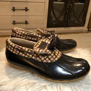 Sperry top sider water rain shoes